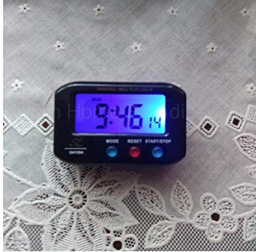 Creative Bedside Klok Plastic Portable Pocket Exquisite digitale Leuke wekker Mini Pretty Led Klok Timer Countdown Stopwatch elektronische Watch Klok met Snooze Backlight