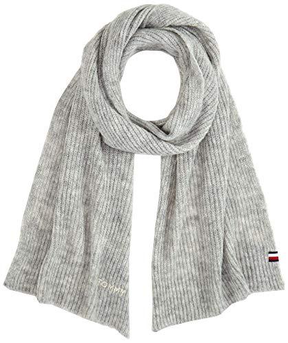 Tommy Hilfiger Damen Effortless Scarf Schal, Grau (Grey 0ir), One Size (Herstellergröße:OS)