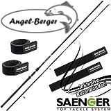 Angel-Berger Sänger Skymaster Zander Spinnrute Angelrute Rutenband (3,00m 20-60g)