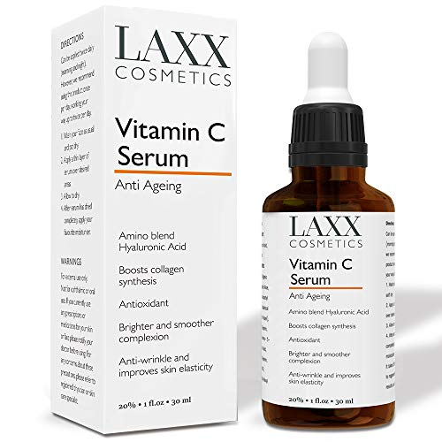 Vitamin C Serum For Face and Anti Ageing Serum with added Hyaluronic Acid - This Vitamin C Serum Will Hydrate, Brighten & Plump Skin While Filling In Those Fine Lines & Wrinkles.