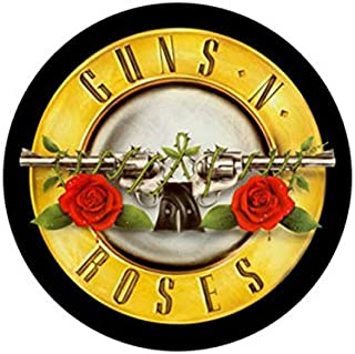 guns and roses back patch