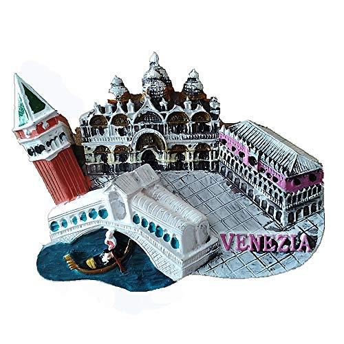 3D Venezia Italia souvenir magnete frigo, casa e cucina adesivo magnetico decorazione Venezia Italia frigorifero magnete