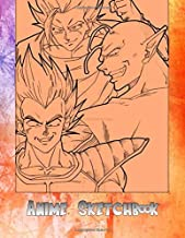 Anime Sketchbook: 100 Blank Pages, 8.5 x 11, Sketch Pad for Drawing Anime Manga Comics, Doodling or Sketching