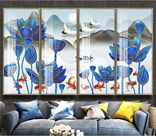 3D Lotus 3188 Wall Paper Print Tampa Mall Mural Self-Adhesi Max 77% OFF Deco Decal