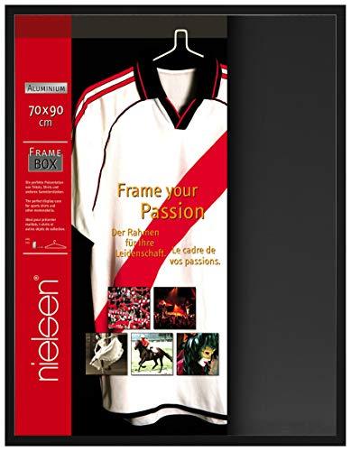 Bilderrahmen Frame Box Farbe: Eloxal Schwarz matt