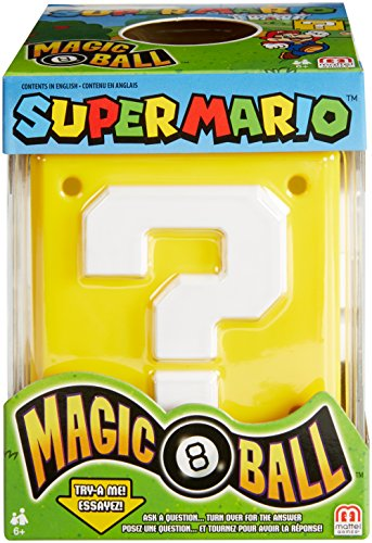 Fisher-Price Mattel Games Magic 8 Super Mario Ball