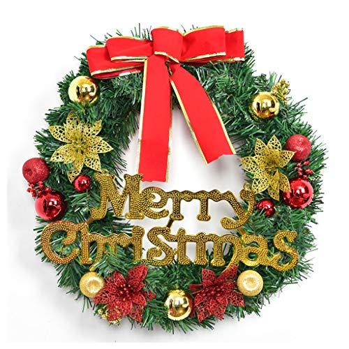 XiuHUa Decorazione di Natale Ghirlanda Negozio della Porta Finestra Hanging Regali Decorazione Decorazioni Albero di Natale Creativo di Natale, Tre Taglie Disponibili Decorazione Natalizia