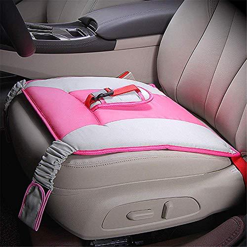 SMBYQ Cinturón de Seguridad para Maternidad, proteja al feto Transpirable y Ajustable Mujer Embarazada Seguridad Conducción Cinturón de Seguridad Cojín de protección Suave Cojín de protección,Pink