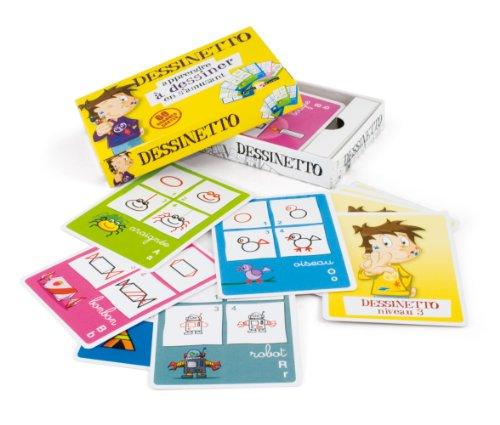France cartes - 410022 - Cartes - Jeu de 7 familles - Gamme Cartatoto : Dessinetto boîte cloche