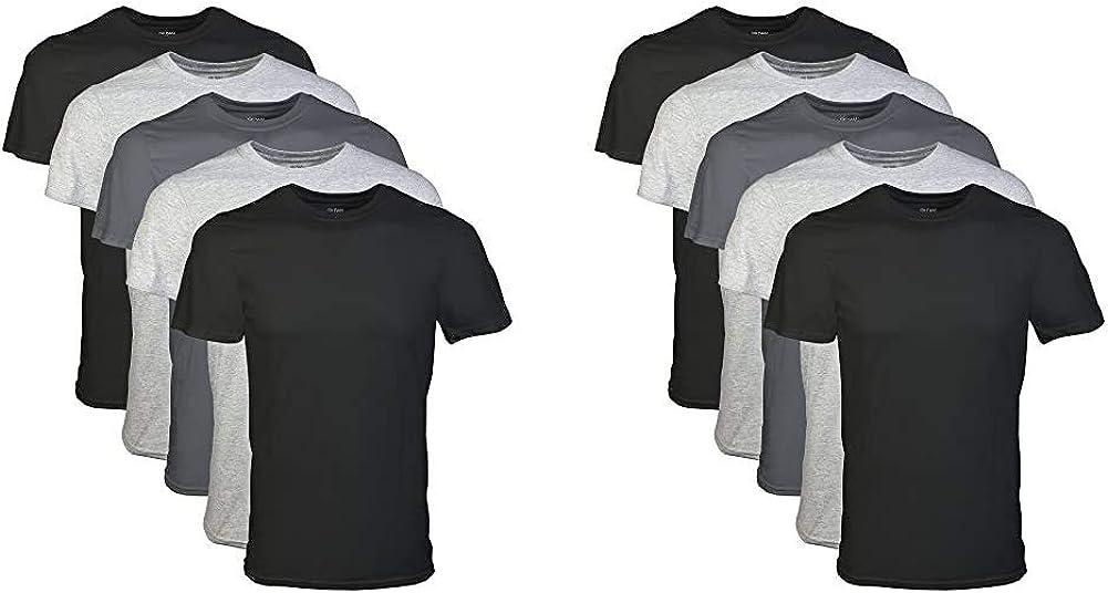 Gildan Credence Men's Crew T-Shirt Assortment Limited price sale 5 X-Large Pack