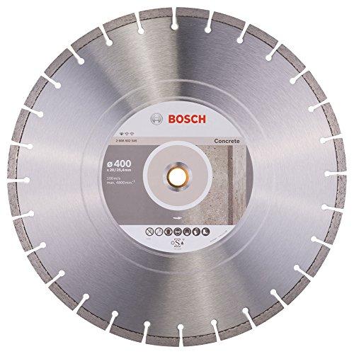 Bosch Professional Diamanttrennscheibe (für Beton, Ø: 400 mm, BohrungØ: 20 mm, Zubehör für Benzinsägen und Tischsägen)