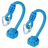 minifinker Empuñaduras de Cuerda de Columpio, 2 Piezas de Cuerda de...