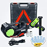 Anbull Electric Car Floor Jack 5 Ton DC12V Automatic Hydraulic Car Jack Lift with Electric Impact...