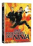 Das Todesduell der Ninja (The Ultimate Ninja)- Mediabook - Limited Edition auf 111 Stück - Cover B (+ Bonus-DVD mit weiterem Ninjafilm)