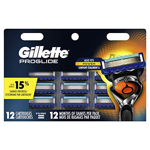 Gillette ProGlide Men#039s Razor Blade Cartridges 12 Refills