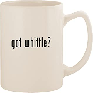 got whittle? - White 14oz Ceramic Statesman Coffee Mug Cup