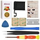 for 40mm Apple Watch Series 4 Battery Replacement A1975 A2058 (LTE Cellular Version + GPS Version) with Repair Tool Set + Installation Instruction + Back Cover Adhesive
