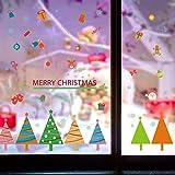 Pegatinas de pared Etiqueta de la pared de la falda del árbol Habitación de los niños Kindergarten Etiqueta de la ventana Mural para la habitación de los niños Dibujos animados Wall Decal