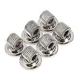BTSKY 6PCS Stainless Steel Pen Holder Clips-...