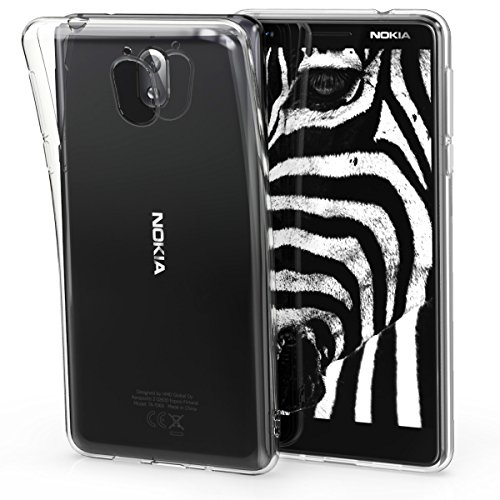 kwmobile Hülle kompatibel mit Nokia 3.1 (2018) - Hülle Handy - Handyhülle in Transparent