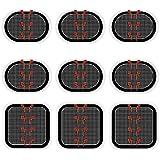 スレンダートーン EMS 交換パッド 3枚×3枚 合計9枚(正面用3枚+脇腹用6枚) 互換品