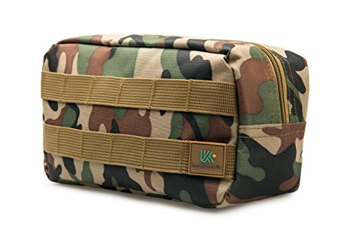 Keep Journey Life KJL First Aid Medical Kit - Hard Carry Case Perfect for Survival Emergency,Hiking,Travelling,Sporting,Camping School Outdoor Activities and Home