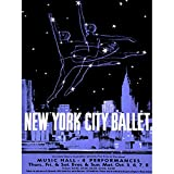 Wee Blue Coo Advertising Exhibition New York Ballet Dance City Skyline Art Large Art Print Poster Wall Decor 18x24 inch