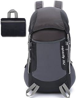 Doolland Mochila de senderismo plegable ultraligera de 35 l, multifuncional, plegable, impermeable, informal, para camping, deportes al aire libre, escalada, montañismo