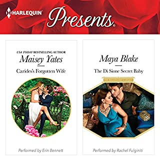 Carides's Forgotten Wife & The Di Sione Secret Baby                   By:                                                                                                                                 Maisey Yates,                                                                                        Maya Blake                               Narrated by:                                                                                                                                 Erin Bennett,                                                                                        Rachel Fulginiti                      Length: 12 hrs and 21 mins     7 ratings     Overall 4.3