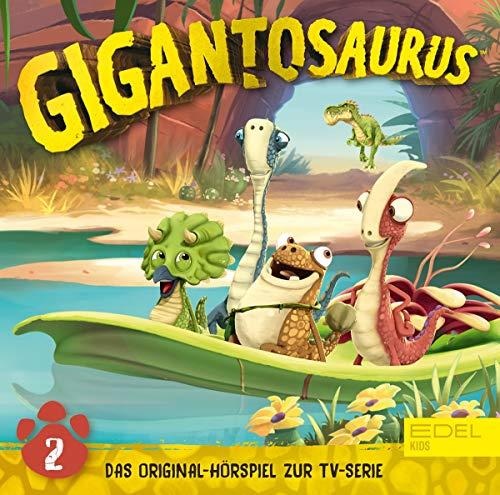 Gigantosaurus - Folge 2: Die geheimnisvolle Hütte - Das Original-Hörspiel zur TV-Serie