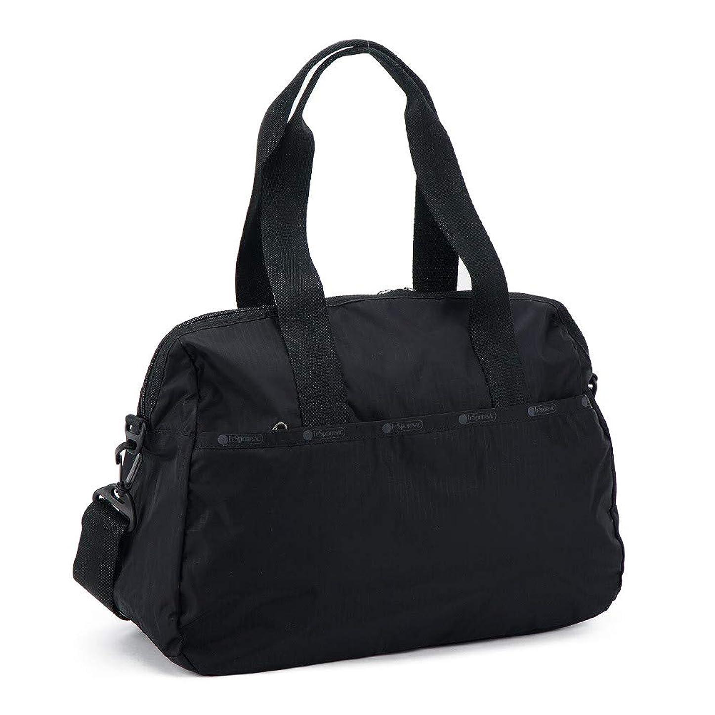 三角病的まぶしさ(レスポートサック) LeSportsac ボストンバッグ HARPER BAG ハーパーバッグ 3356 5982 BLACK レディース [並行輸入品]
