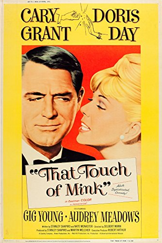 Posterazzi That Touch of Mink L-R: Cary Grant Doris Day On Us Art 1962. Movie Masterprint Poster Print (11 x 17)