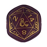 D20 Dungeons and Dragons Coin Purse