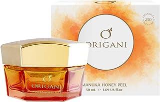 Origani Organic Manuka Honey Gentle Facial Peeling Gel | Gentle Face Exfoliator Scrub and Blackhead Remover | Peel Your Sk...