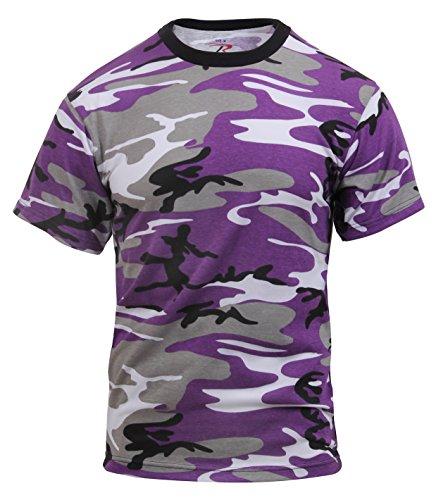 ROTHCO T-Shirt/UV-Camouflage, Größe S