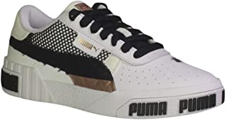 PUMA Women's Cali Bold Unexpected Mixes Fashion Sneakers White/Rose Gold