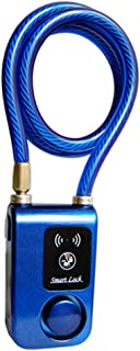 scgtpapadc Smart Waterproof Bluetooth Lock Chain Anti Theft Alarm Keyless Phone APP Control