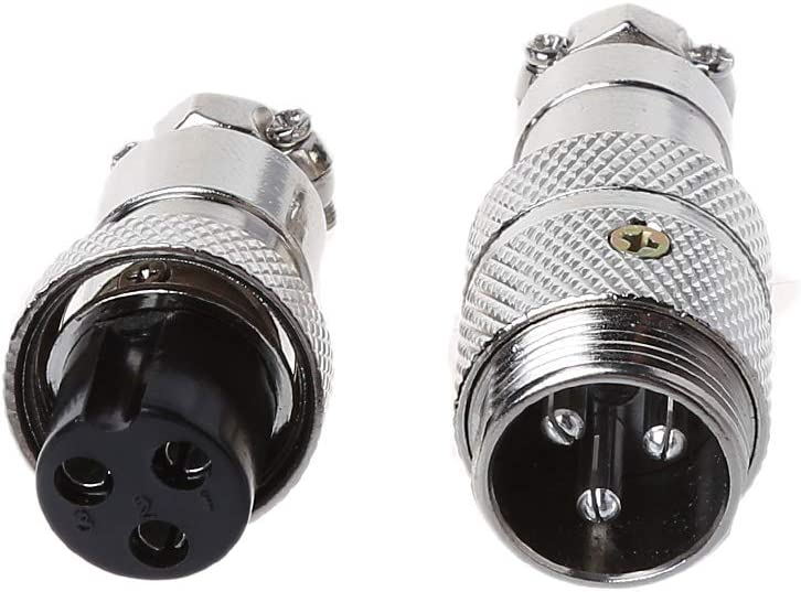 BELTI Gx16 Butting Aviation Male Connector Female Plug 2//3//4//5//6//7//8 Pin