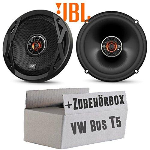 VW Bus T5 Front - Lautsprecher Boxen JBL Club 6522 | 2-Wege | 16cm Koax Auto Einbauzubehör - Einbauset