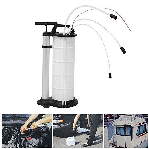 9 litri Aspiratore manuale per liquidi e olio aspiratore, pompa a mano, automobile, motore, motore, olio motore, carburante, benzina, refrigerante, acqua, rimozione, pompa, trasferimento, pompa