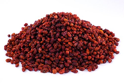 Bio Sanddorn Beeren 1 kg sonnen-getrocknet, aus Wildsammlung, ungesüßt, Rohkost 1000g