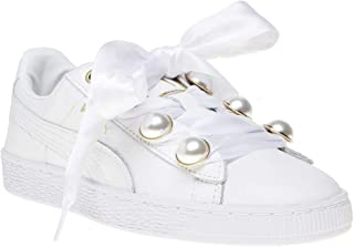 PUMA Basket Bling Womens Sneakers White