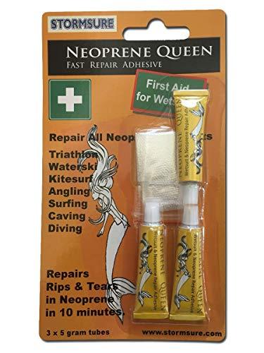 Neoprene Queen Wetsuit Repair Adhesive 3x5g