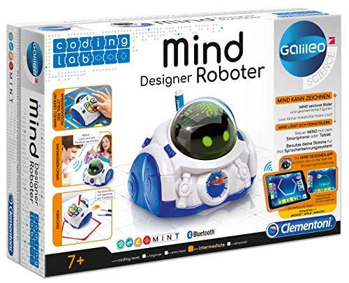Clementoni 66799 Clementoni-59097-MIND Designer Galileo Science Coding Lab-Mind De Pratende Educatieve Robot, Mehrfarben, Norme