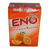 Eno polvo antiácido de sal de frutas - sabor naranja - 1 caja (30 bolsas) - 5 g cada uno