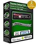 Toyota Celica T23reproductor de CD estéreo para coche radio USB Clarion Reproducir iPod, iPhone, Android