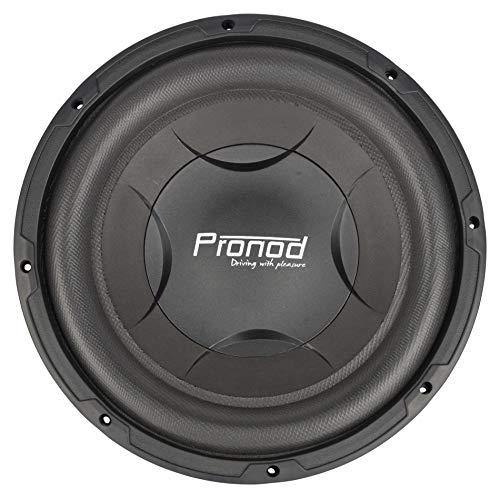 PRONOD SW-P1214 12 Inch High Performance Powerful 1400 Watt Round Car Speakers/Subwoofer