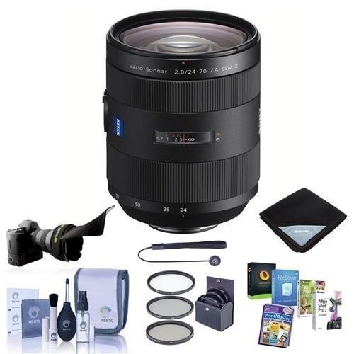 Sony 24-70mm f/2.8 Vario-Sonnar T Zeiss ZA SSM II, A-Mount Lens