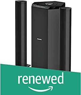 (Renewed) Philips MMS8085B/94 2.1 Channel Convertible Multimedia Speaker System (Black)