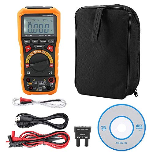 WY-YAN Multímetro - PM8236B multímetro digital medidor de voltaje de corriente Resistencia -20~1000 ℃ Preciso